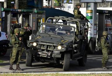 30/12/2017- Natal/RN, FORÇAS ARMADAS EM NATAL GARANTEM UM AMANHECER MELHOR. Foto: Vitorino Junior/PHOTOPRESS.